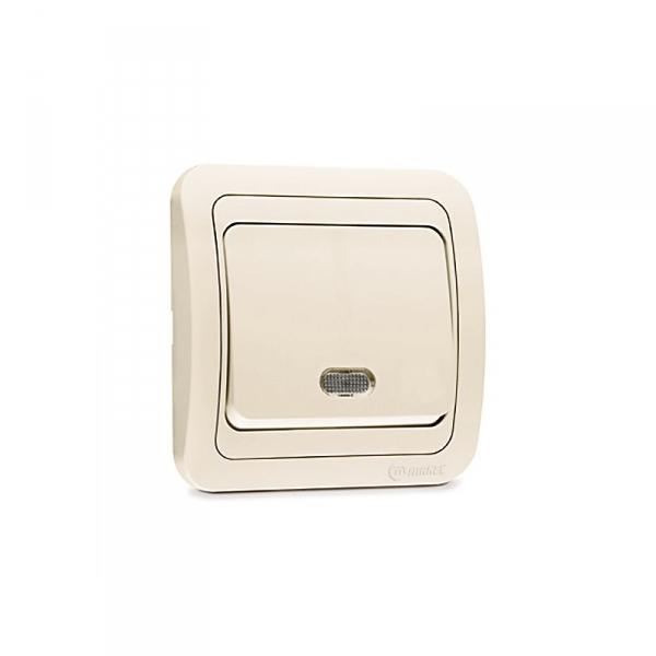 Выключатели электрические выключатель электрический настенный двухклавишный белый, makel 12003 фото