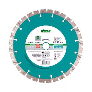 Диск алмаз. DISTAR Technic Advanced 1A1RSS/C3-H 125х1,4х22,2